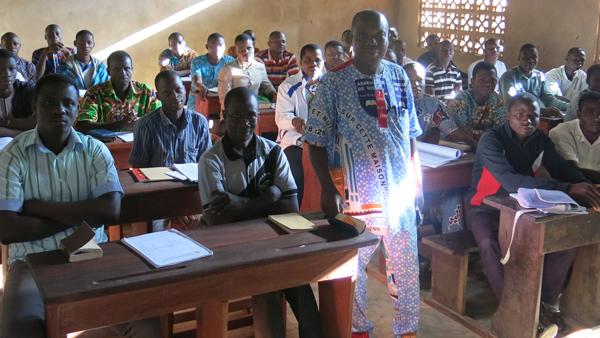 A Bible school reopened in Benin