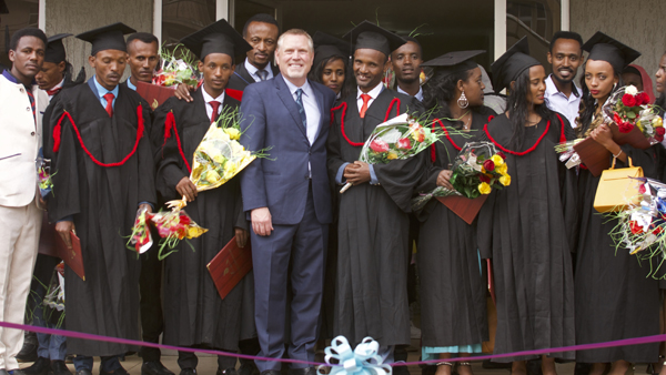 Nearly 200 graduate in Ethiopia